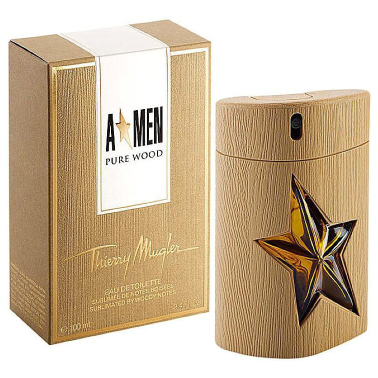 T.Mugler A* Men Pure WOOD